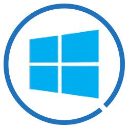 Windows kommt mit zwei Lösungen.